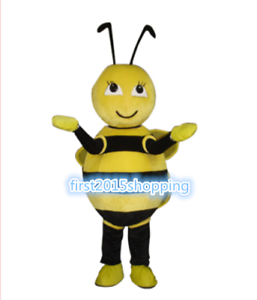 e2b4c74af Image is loading Halloween-Professional-Bee-Mascot-Costume -Unisex-Adult-Size-