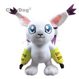 Digimon-Adventure-Tailmon-Gatomon-Plush-Plushie-Toy-Stuffed-Animal-Doll-12-039-039