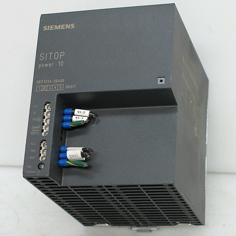 Siemens SITOP Power 10 24V DC 10A Industrial Power Supply 1P6EP1 334-2BA00