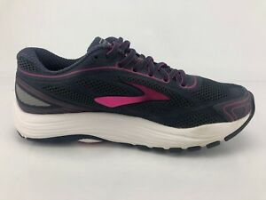 bbb5e03fc50f Brooks Dyad 9 Running Shoes Purple Multicolor Athletic Fitness Shoes ...
