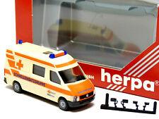 Herpa 044639 H0 1:87 VW LT 2 RTW Flugambulanz in OVP