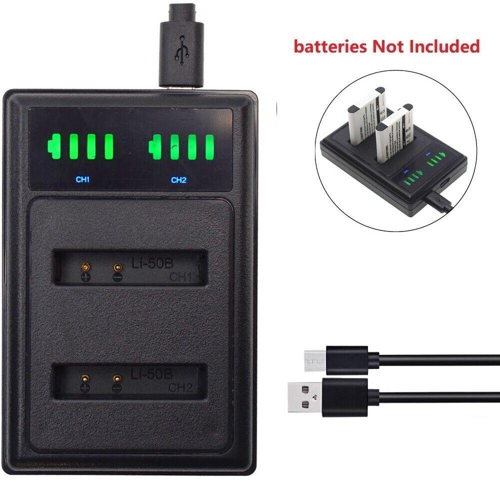 USB NP-BN1 Battery charger for Sony NP-BN1 Type N Cybershot DSC-QX10 TX10 W830