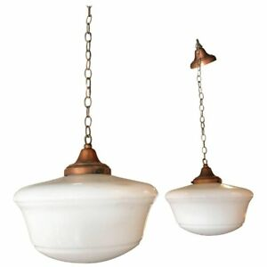 Copper Schoolhouse Pendant Lights