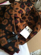 Zara Soft Touch Cosy Tiger Animal Print Scarf 100/% Genuine BNWT