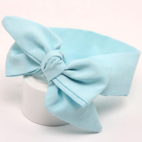 Toddler Baby Girl Stripe Bow Wave Pattern Baby Headband Kids Hair Accessories