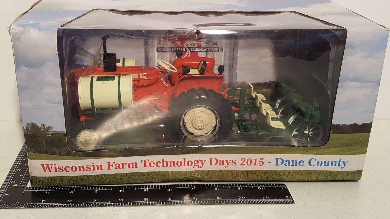 AC D15 IV avec Ellis 470 planteuse 1 16 Résine tracteurs agricoles réplique par specCast