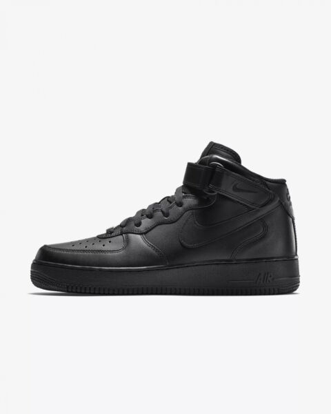 low priced ba460 8bc7e Nike Air Force Scarpe Sneakers Uomo Nero 315123-blk 7 for sale online   eBay