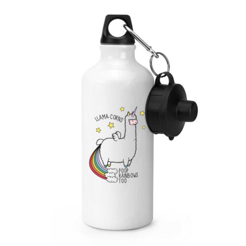 Lama Licorne Lama-cors merde Rainbows trop Sports bouteille d'eau de boissons