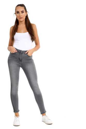 Womens Ladies Stretch Denim Jeans Skinny Jean High Waist Jegging Pants Plus 8-22