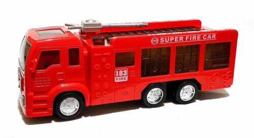 Kinder Spielzeug Feuerwehr Feuerwehrauto Auto LKW LED Licht Sirene Selbstfahrend