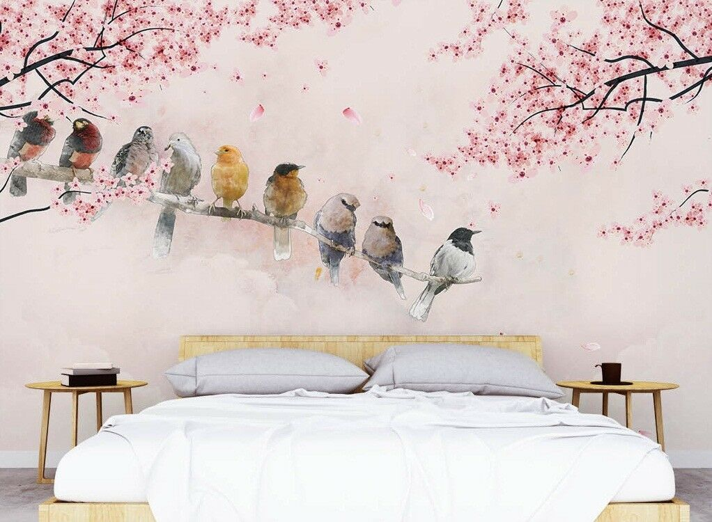 3D 3D 3D Tree Branch 734 Wall Paper Exclusive MXY Wallpaper Mural Decal Indoor Wall AJ 66cd95