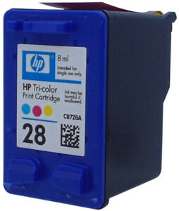 HP #28 C8728AN Color Ink Cartridge Genuine New