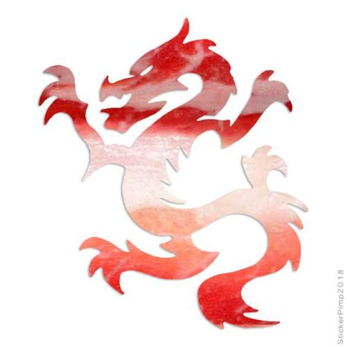 Taille #233 Dragon chinois Decal Autocollant Choisir Motif