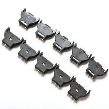 10PCS CR2032 2032 3V Cell Coin Battery Socket Holder Case WQZY