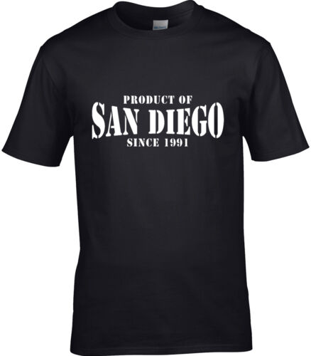 Produit de San Diego T-shirt homme Place Nom cadeau d/'anniversaire année de choix