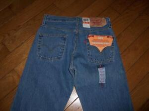 6b4aaa64 Details about NEW MEN'S LEVI'S 501 BUTTON FLY PRESHRUNK DENIM JEANS W 30