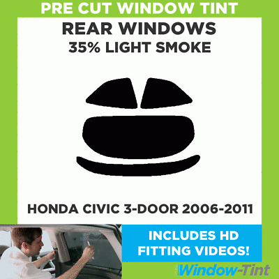 HONDA CIVIC 4 PORTES 2006-2011 5/% Pre Cut Window Tint Film
