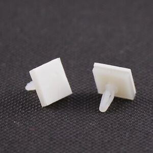 10x Platinenhalter HC-5 4.8mm mit Klebefläche PCB Klebe Abstandhalter Kunststoff