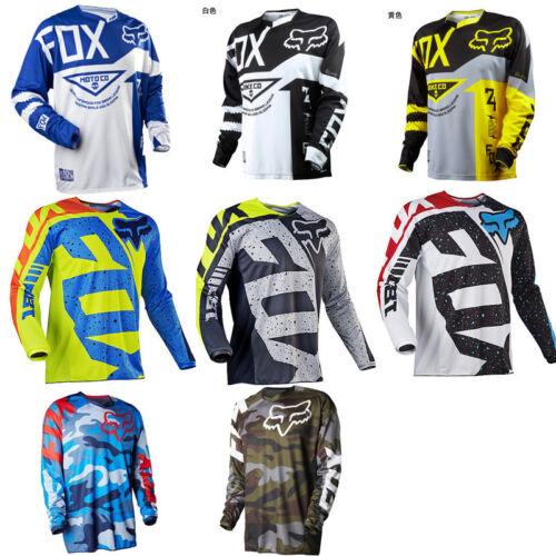 Fox Racing Jersey Shirt Men's Motocross/MX/ATV/BMX/MTB 2018 M1