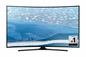 "SAMSUNG 55"" 55KU6300 CURVED 4K UHD SMART LED TV WITH 6 MONTH ONSITE WARRANTY"