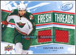UD-ICE-2008-COLTON-GILLIES-NHL-MINNESOTA-WILD-DUAL-THREADS-GAME-JERSEY-FTCG