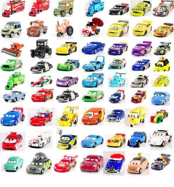 Disney Pixar Cars 1-2 - 1:55 Metal L'expédition combinée voiture jouet