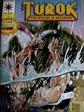 TUROK Cacciatore di dinosauri n°4-5 1994 ed. Play Press  [G.175]