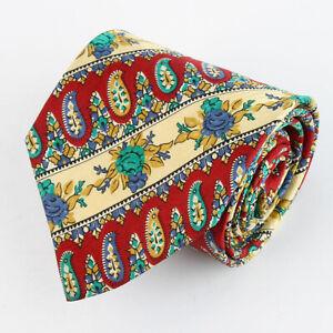 PFAU-100-Seiden-Krawatte-Tie-Cravate-102