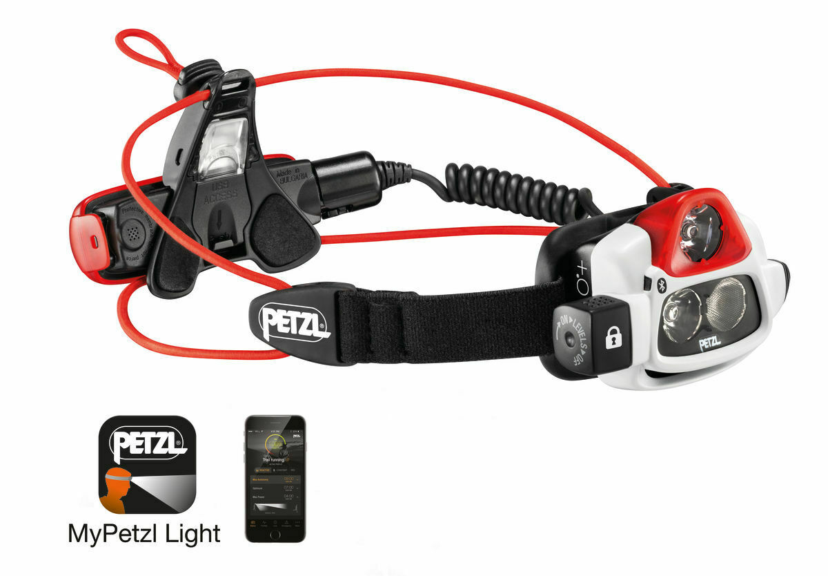 Petzl Nao Headlamp 750 lumens,USB Rechargeble,Programmable,E36AHR 2B,Brand New