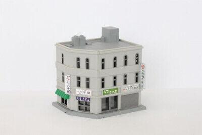 Ingegnoso Rokuhan S034-1 Z Scala Corner Shop Building A (1/220 Z Scala) Crease-Resistenza