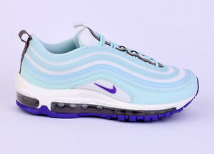 Details about Nike WMNS Air Max 97 Women Lifestyle Sneakers New Teal Tint Violet 921733 303