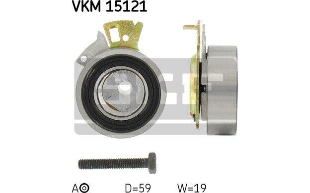 Polea tensora correa dentada SKF VKM 15121