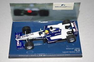 Minichamps-F1-1-43-Williams-BMW-FW22-versione-di-lancio-RALF-SCHUMACHER-Rivenditore