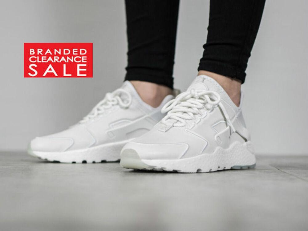 Entièrement neuf dans sa boîte Nouveau Femmes Nike Air Huarache Run Ultra si Avoine blanc taille 5 6- Chaussures de sport pour hommes et femmes