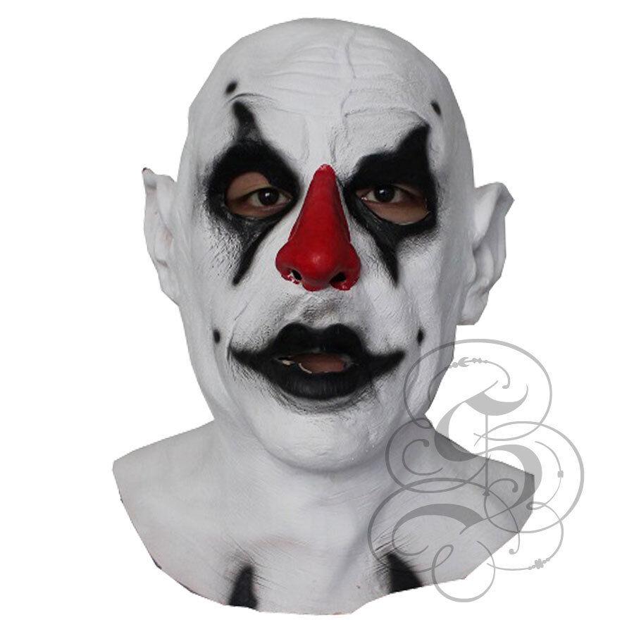 Halloween Latex Scary Evil Psycho Clown Horror Prop Dummy