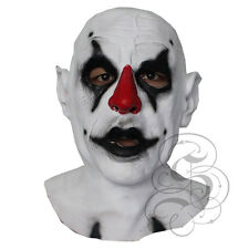 Halloween Latex Scary Evil Psycho Clown Horror Prop Dummy Costume Dress Masks
