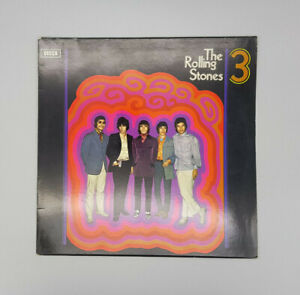 Rolling-Stones-rare-Netherlands-No-3-LP-different-Cover