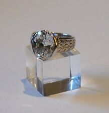 Ring  Silber 925  mit Zirkonia Größe 50 bis 15,9 mm