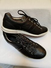 ECCO MEN'S STREET LUXE - HYBRID GOLF SHOES - NEW - BLACK - EU SIZE 42 / US 8-8.5