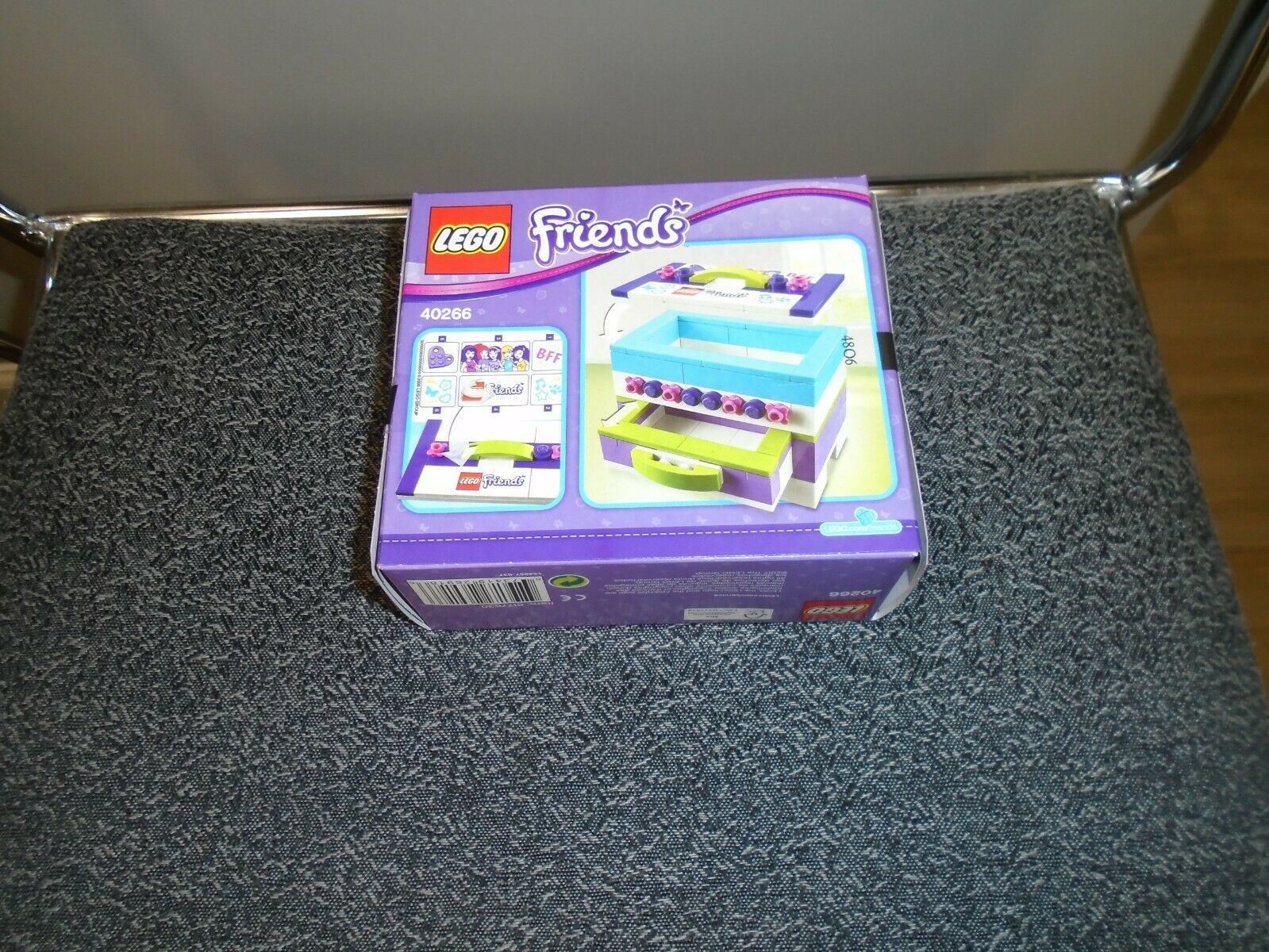 105 pcs. Lego Set 40266 Storage Jewelry Box Friends Limited Edition NIP 2017
