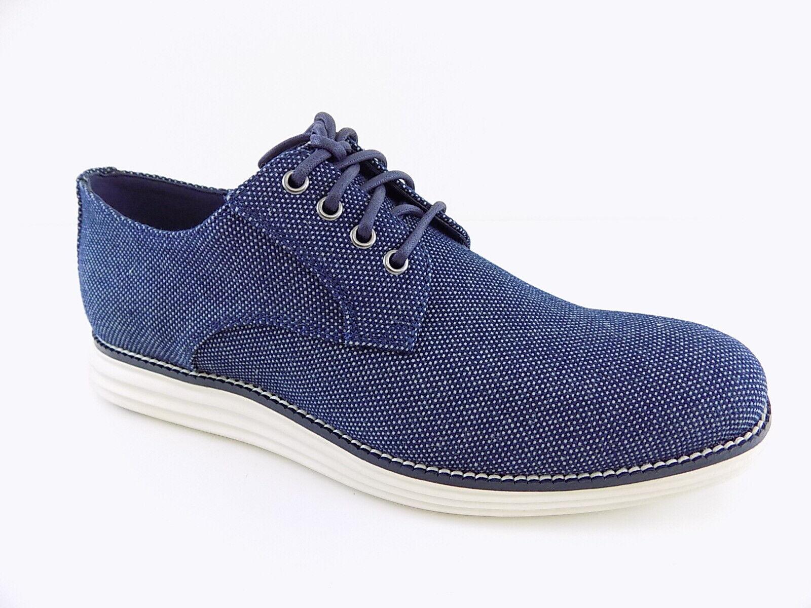 Cole Haan Original Grand Plain Toe bleu Homme Taille 8 M derbies chaussures