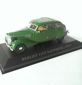 Berliet 11 CV Dauphine 1939 grün green 1:43 IXO Altaya