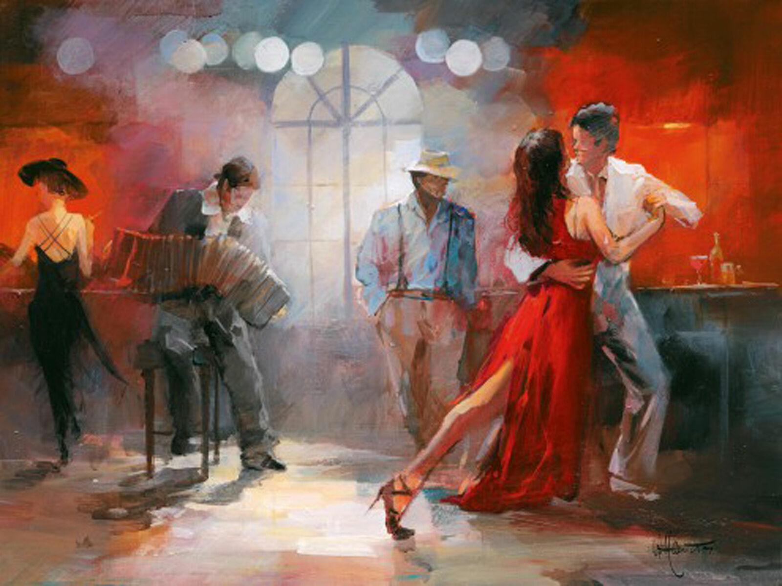 Willem Haenraets-Tango-Art d'impression-taille 80x60 cm