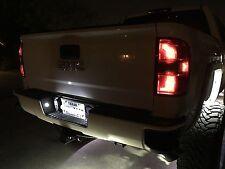 2014-2017 Chevy Silverado & GMC Sierra WHITE LED LICENSE PLATE LIGHTS