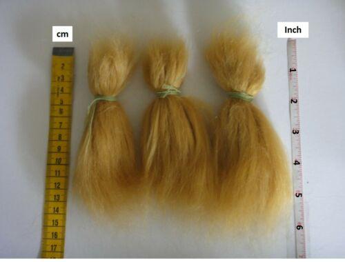 20g Reborn Baby doll MOHAIR 100/% pour Bébé REBORN-REBORNING Blond foncé