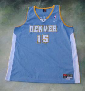 best service 1065d c8570 Details about Vintage Nike NBA Denver Nuggets Carmelo Anthony #15 Jersey  Size XXL.