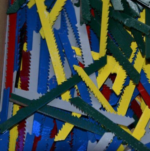 100 Stück Stichsägeblätter  U-Schaft   Holz Feinholz Kunststoff für Black/&Decker