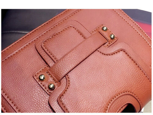 Fashion Women/'s Quality Faux Leather Handbag Shoulder Bag Cross Body Tote K44A