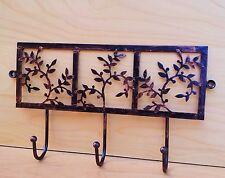 Headbourne Wall Fix Floral Metal Hanger Decorative Hooks Balls End Hooks