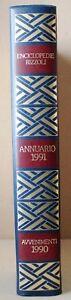 ANNUARIO-1991-AVVENIMENTI-1990-Enciclopedie-Rizzoli